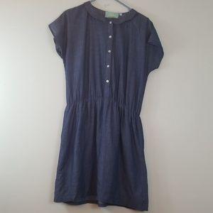 Juju S'muse Button Up Baby Doll Dress XL